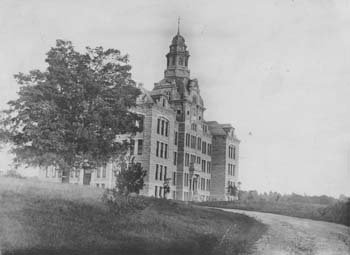 historic photo of Adelbert Hall